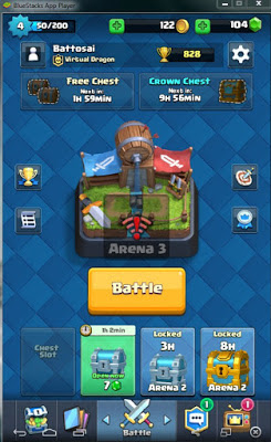 Cara Install Clash Royale Di PC