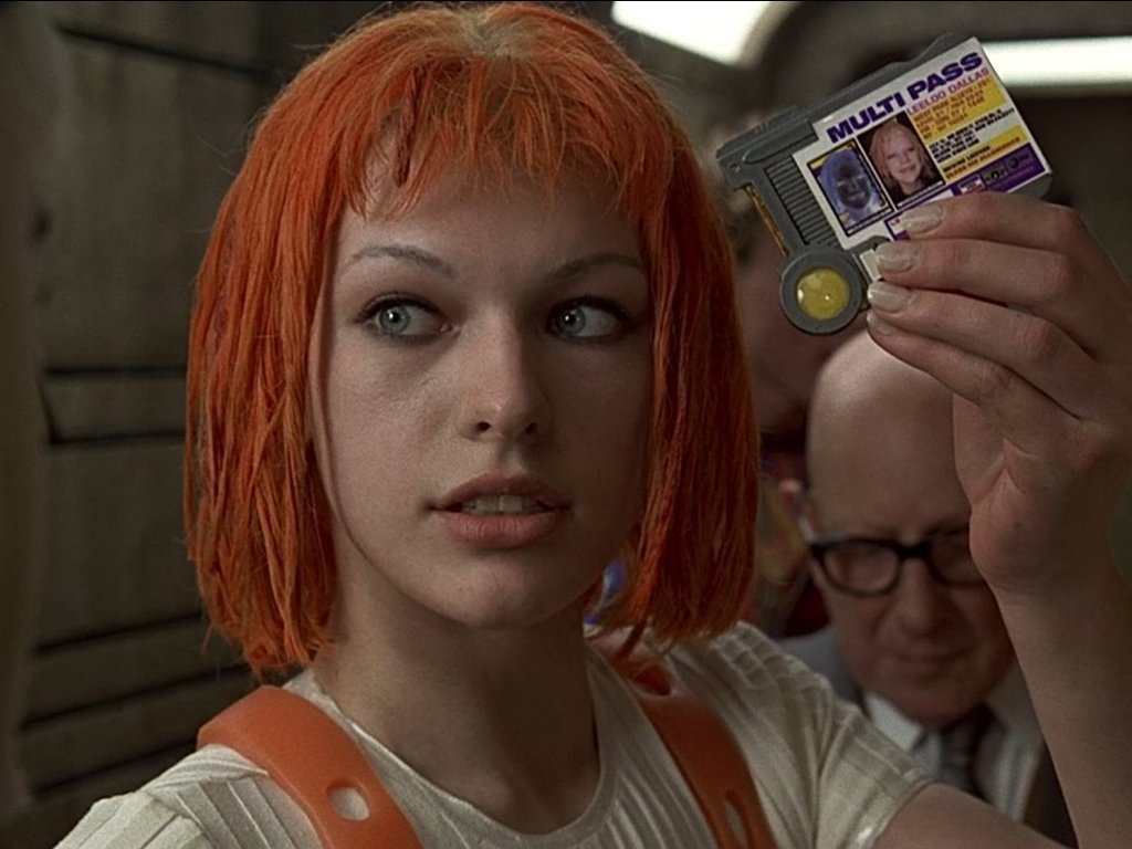 Fifth element leeloo dallas fucks herself in the ass