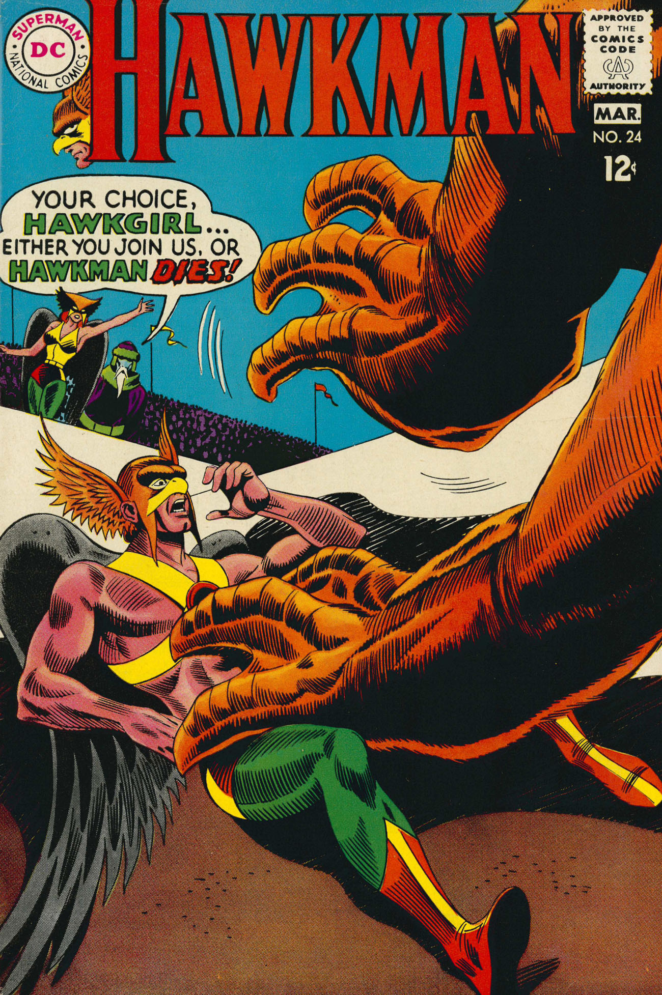 Hawkman (1964) issue 24 - Page 1