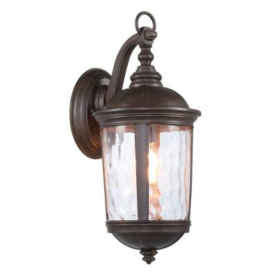 dark bronze coach light home depot