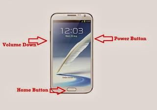 Cara flash atau instal ulang ponsel samsung
