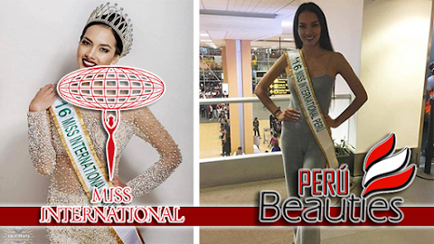 MISS INTERNATIONAL 2016 | Miss Perú rumbo a Tokio