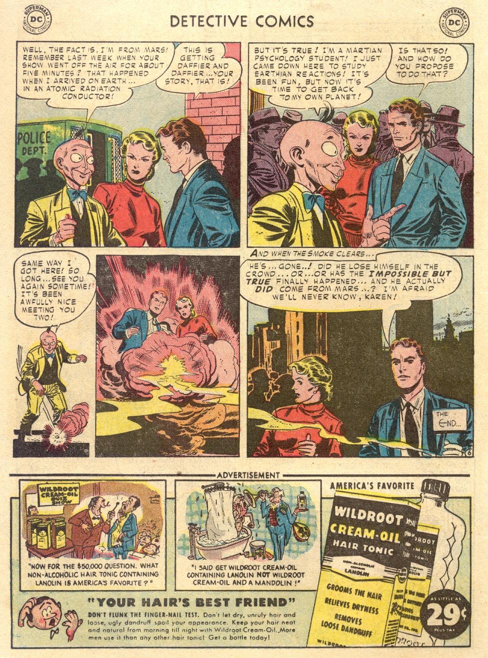 Read online Detective Comics (1937) comic -  Issue #186 - 22