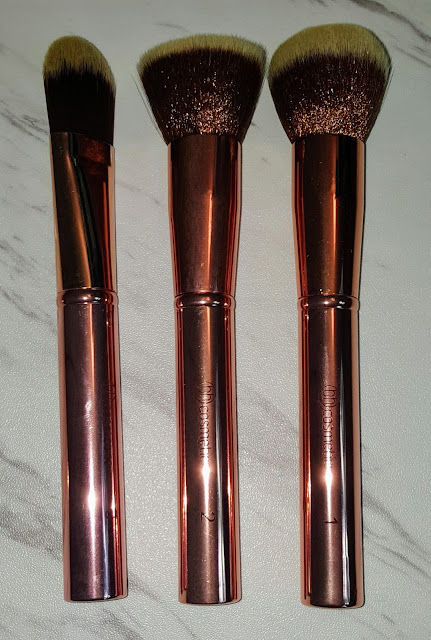BH Cosmetics Metal Rose Makeup Brush Set