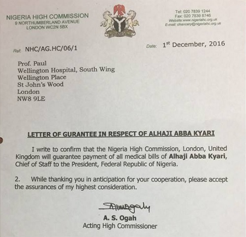 CORRUPTION: Secret Documents Expose Massive FRAUD At Nigeria's UK High Commission, Kyari, Aisha Buhari Dirtily Enmeshed