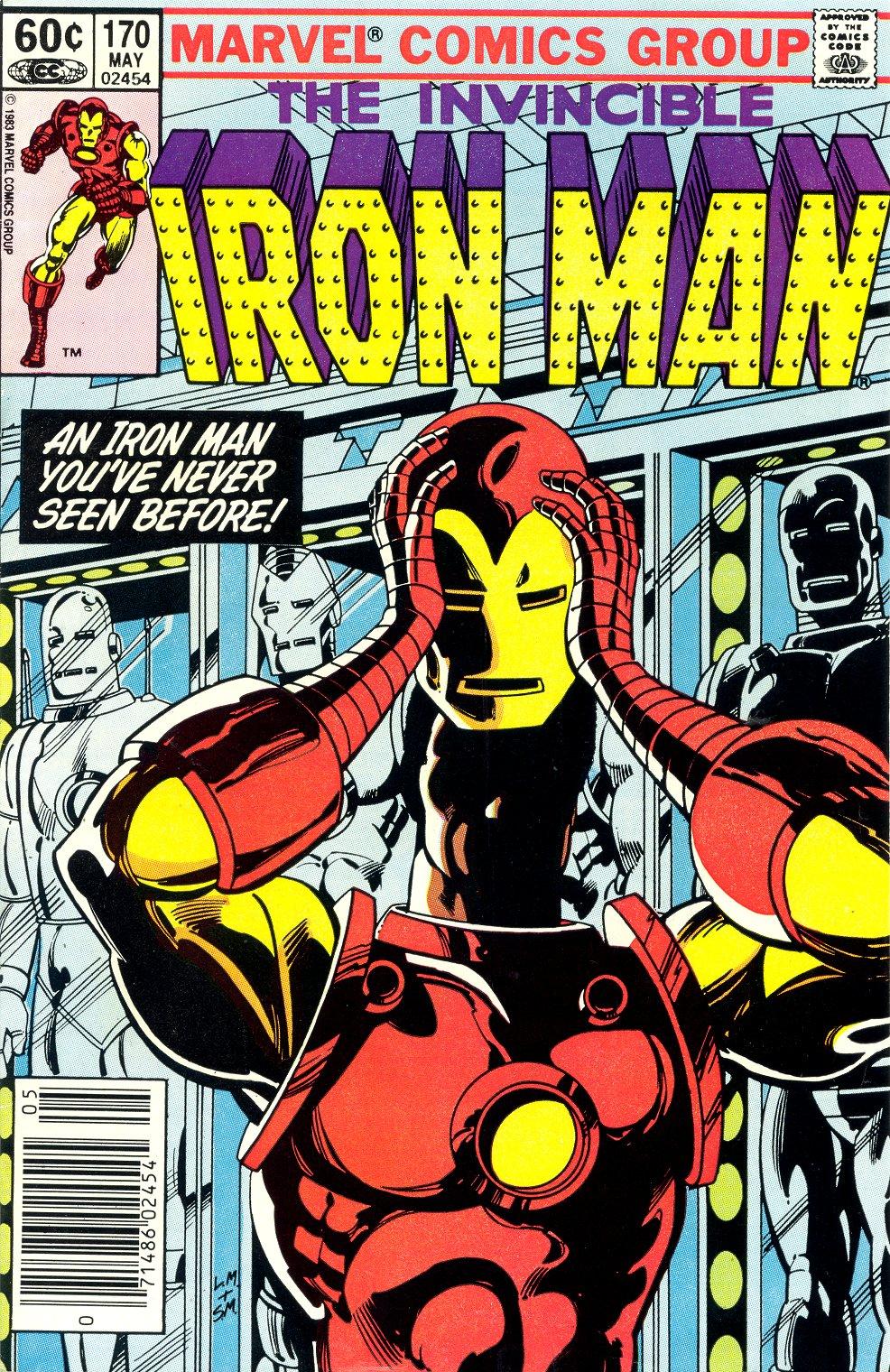 Marvel Comics Of The 1980s: Iron Man 3 Week