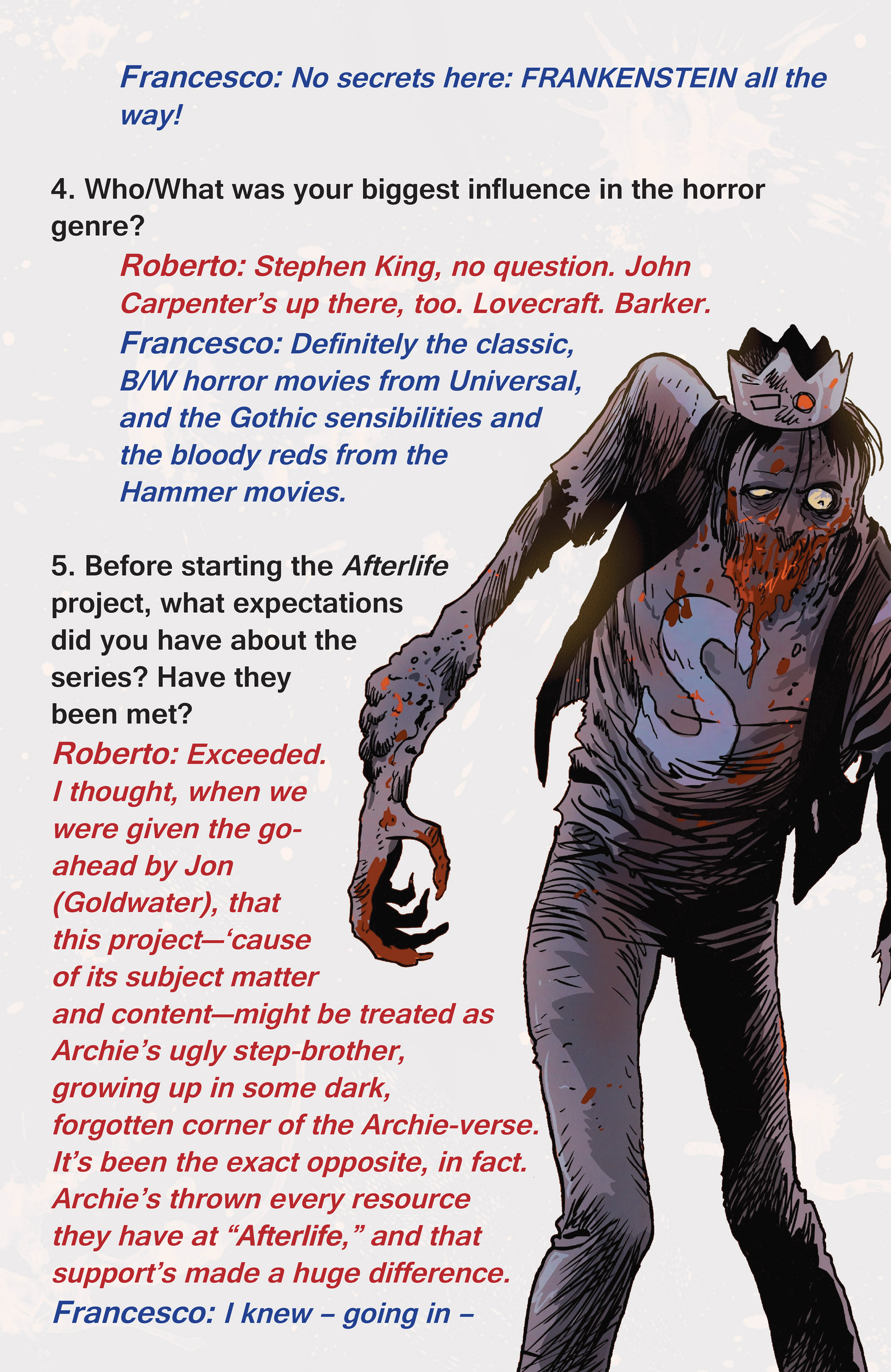 Read online Afterlife with Archie comic -  Issue #1 - 28