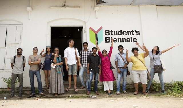 The Students' Biennale – a unique art educational initiative by the Kochi Biennale Foundation – is wholly driven by 15 student curators. It will provide a one-of-its-kind exhibitory platform for the works of over 350 aspiring artists from 55 schools across the country at Kochi-Muziris Biennale 2016.