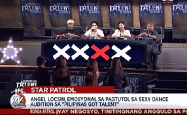 Angel Locsin Turns Emotional Over The Audition Of Scantily Clad Women In PGT