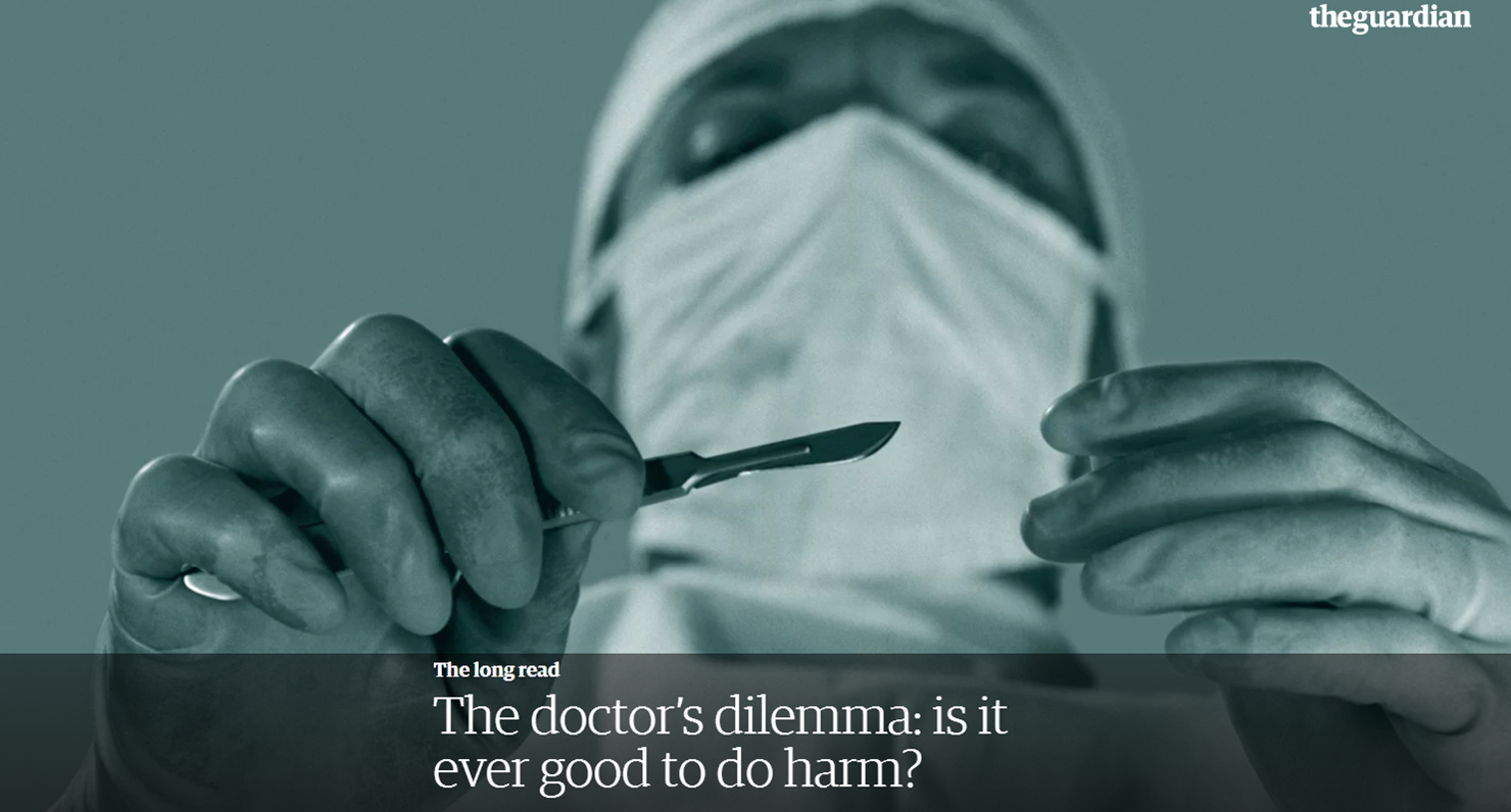 doctors dilemma The opioid epidemic is shot through with ethical challenges one of these is whether physicians can ethically prescribe these drugs.