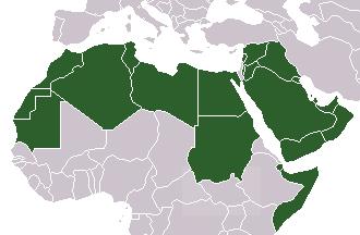 アラブ人とは?アラブ諸国の地域地図