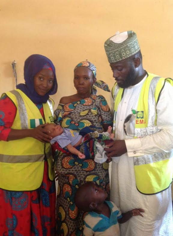 NEMA welcomes four more babies at Malkohi IDP camp Yola Adamawa state