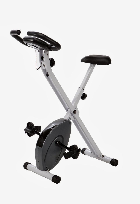 Exercise Bike Zone Exerpeutic Folding Magnetic Exercise