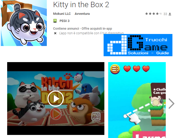 Trucchi Kitty in the Box 2 Mod Apk Android v1.0.12