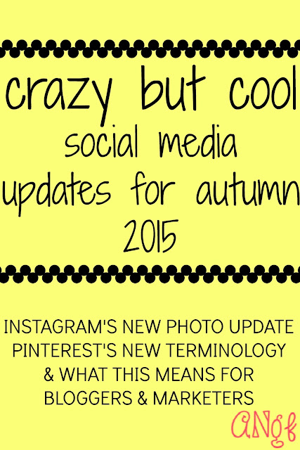 Instagram vertical photos; Pinterest save pins | Anyonita-nibbles.co.uk