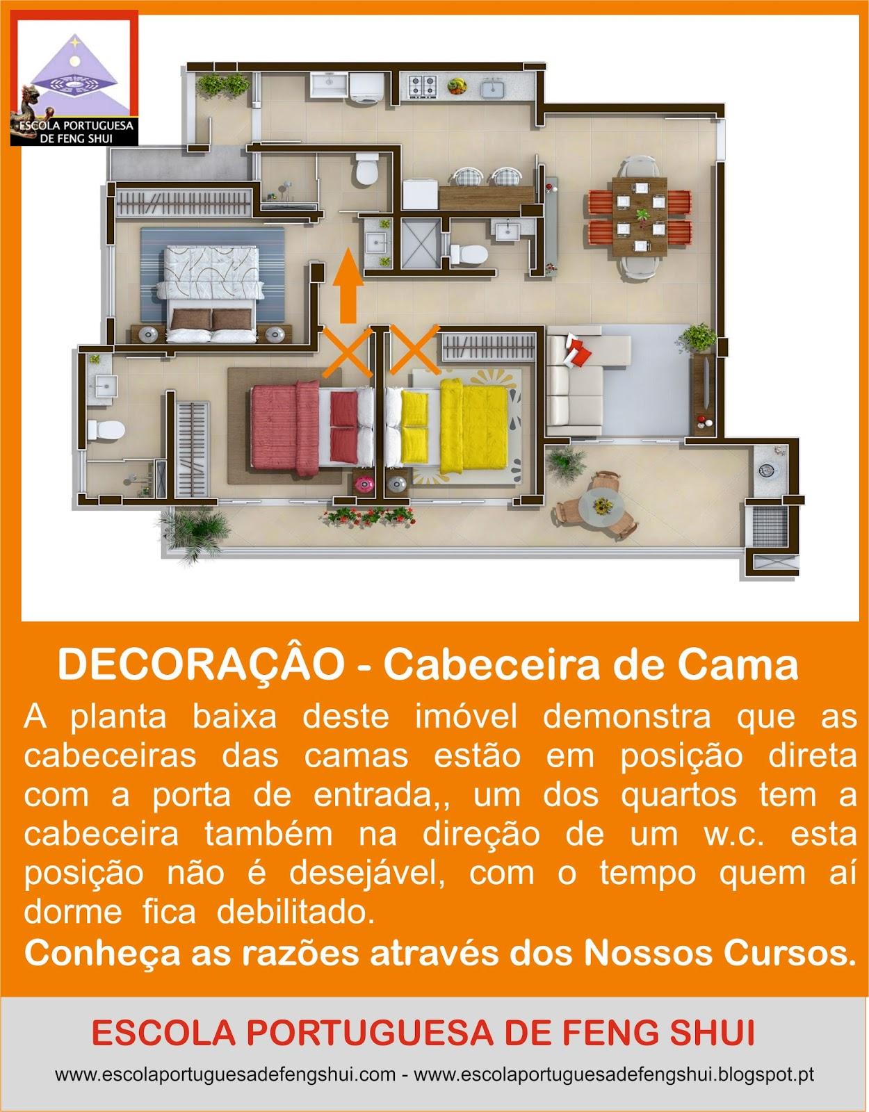Escola portuguesa de feng shui decor - Feng shui cama ...