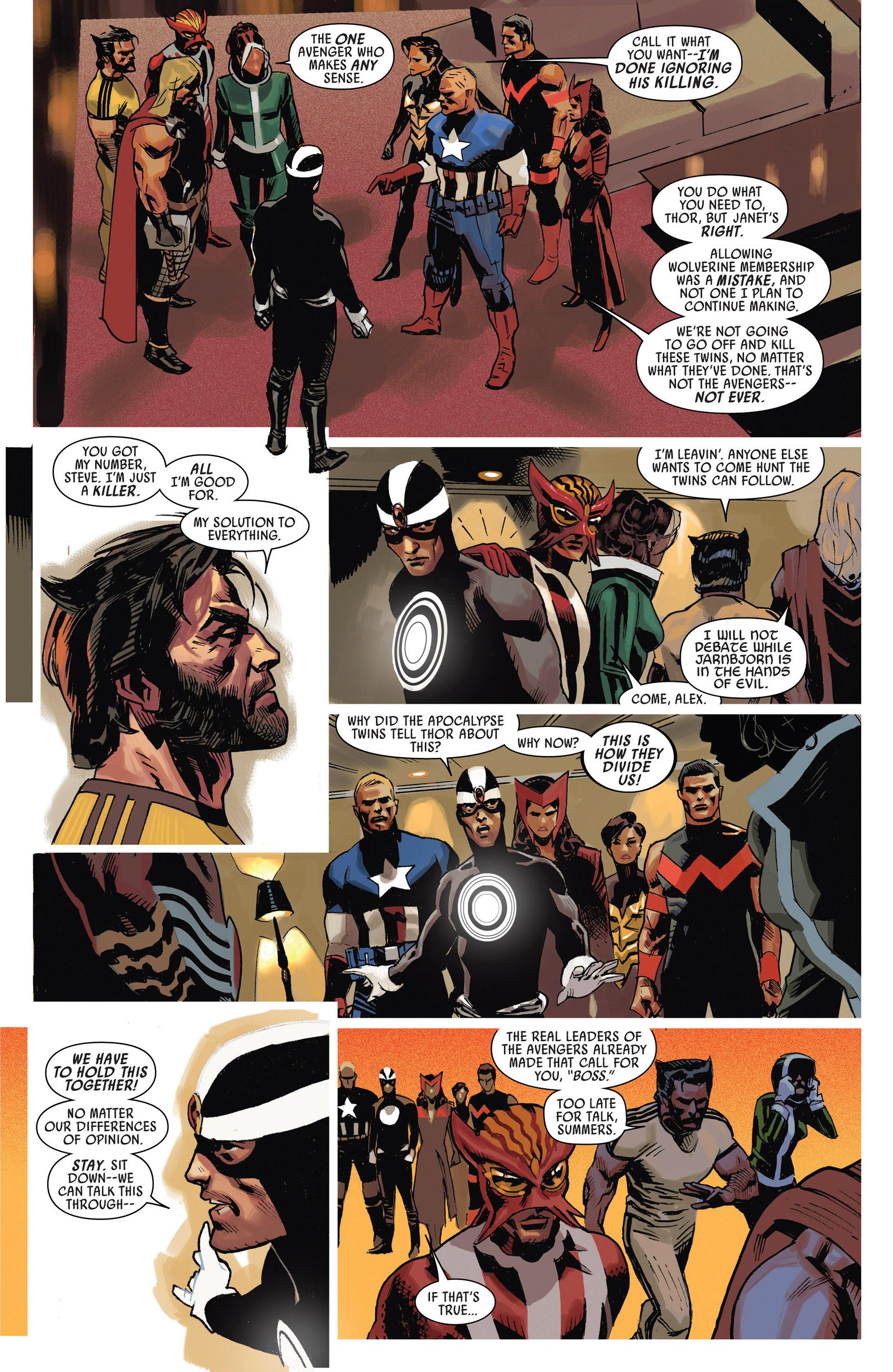 Read online Uncanny Avengers (2012) comic -  Issue #9 - 18