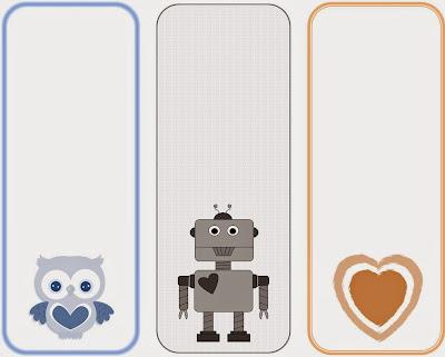 Valentine's Day Bookmarks - free printable