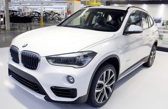BMW já exportou 10 mil unidades do X1 fabricado no Brasil