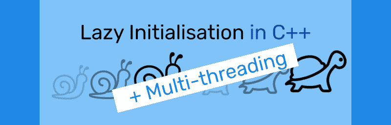 Lazy Init, C+=, Multithreading