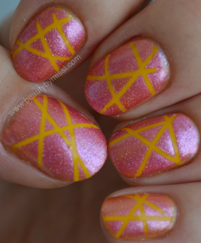 Maybelline Colorama pink yellow
