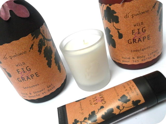 A picture of Di Palomo Wild Fig & Grape Indulgent Bathing Experience
