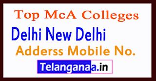 Top MCA Colleges in Delhi New Delhi