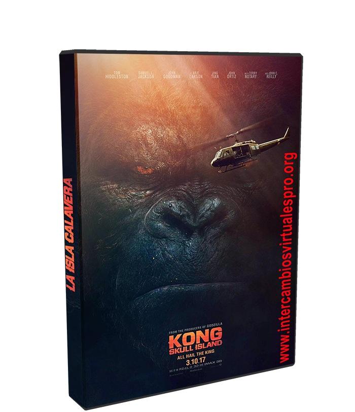 Kong La Isla Calavera poster box cover