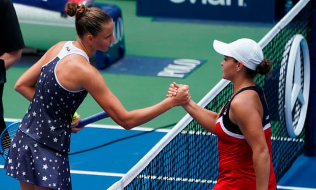Ashleigh Barty bows out of US Open in fourth round