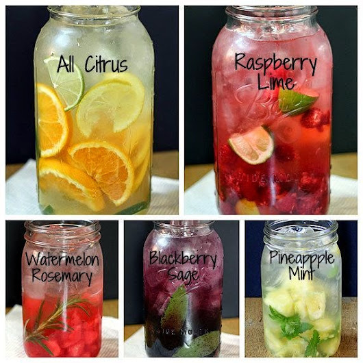 Current Obsession: Fruit Infused Water