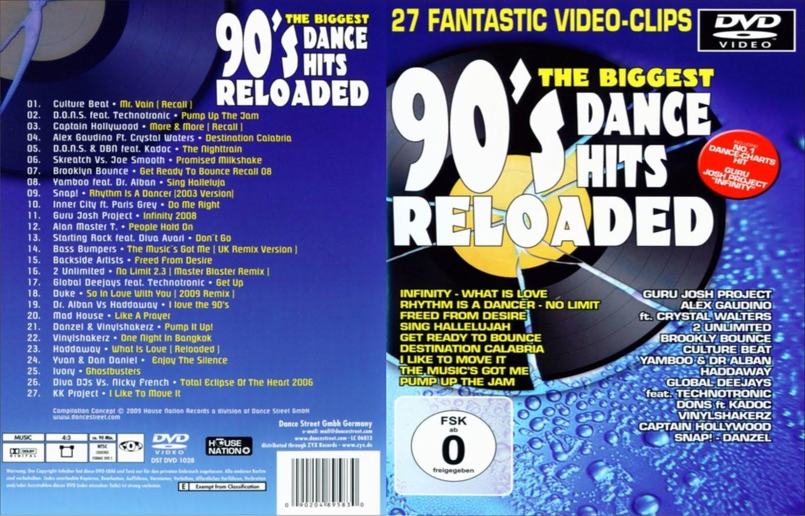 Reggaeton Party 2014 Vol 2 21 Songs: Riodvdmusic: 90's Dance Hits Reloaded