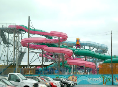The Splash Zone Waterpark in Wildwood, New Jersey