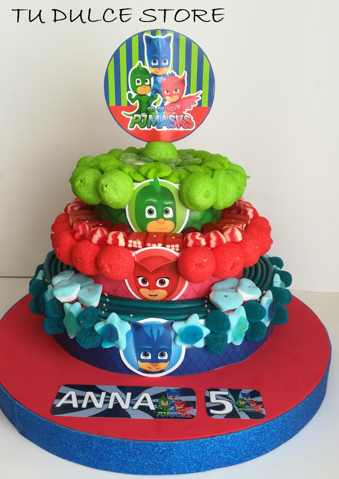 Pj Mask Cake Edibile For Cakes