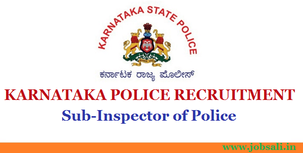 KSP Recruitment, Government jobs in Karnataka, Police vacancies