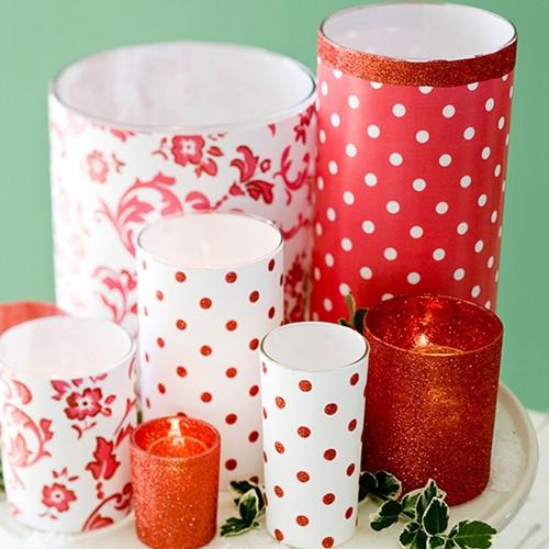 decoração natal velas