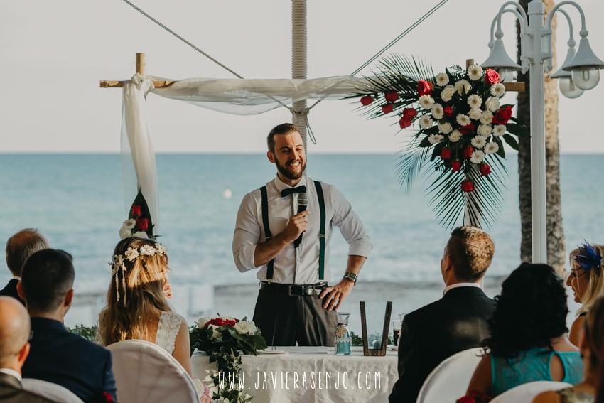 ceremonia en la playa hotel servigroup montiboli villajoyosa