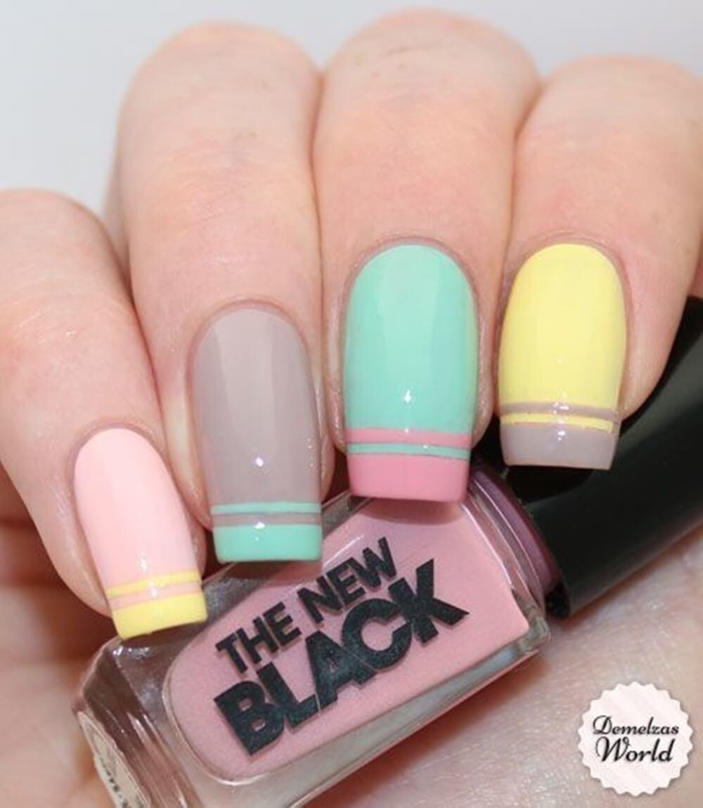 cores de esmaltes para o verão