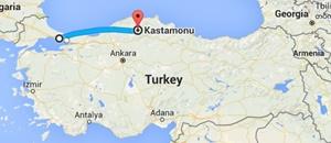 İstanbul-Kastamonu Havayolu Seferleri