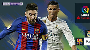 Jadwal Real Madrid vs Barcelona Malam Ini beIN Sports 2