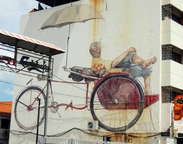 Georgetown, Penang, Malaysia, street art, mural