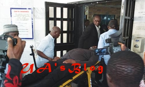 Police evacuate Melaye to National Hospital