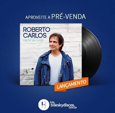 Roberto Carlos LP Amor sin limite