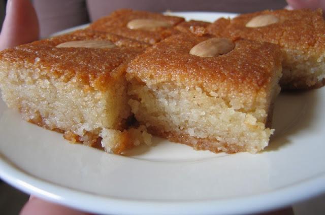 Semolina Cake (Harissa)