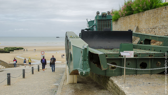 Arromanches viaje Normandia turismo playas desembarco roadtrip