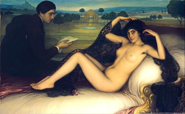Julio Romero De Torres - La Venere della Poesia - sex art
