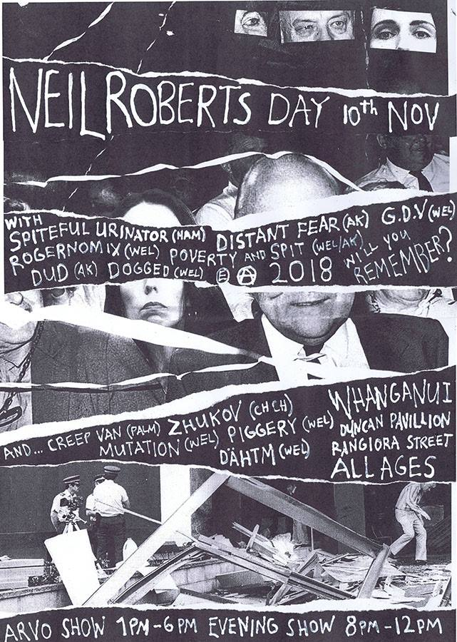 Neil Roberts Day 2018