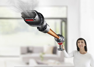 Source: Dyson. The Dyson Cyclone V10 stick vacuum is  cordless and versatile.
