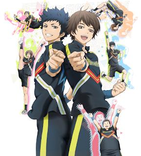 """Tres nuevos seiyuus para el anime """"Cheer Danshi!!"""" de Ryo Asai"""