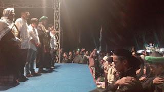 Emil Dan kang Woto Di Doakan Ribuan Mafia Sholawat Magetan
