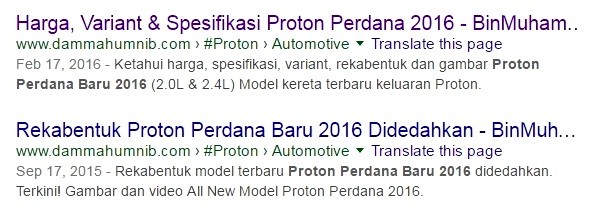 Panduan Google Webmaster - Search Appearence - Data Structure